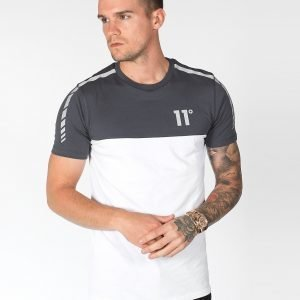 11 Degrees Colour Block T-Shirt Harmaa