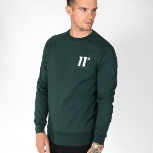11 Degrees Core Sweatshirt Vihreä