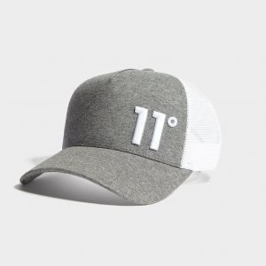 11 Degrees Trucker Lippis Harmaa