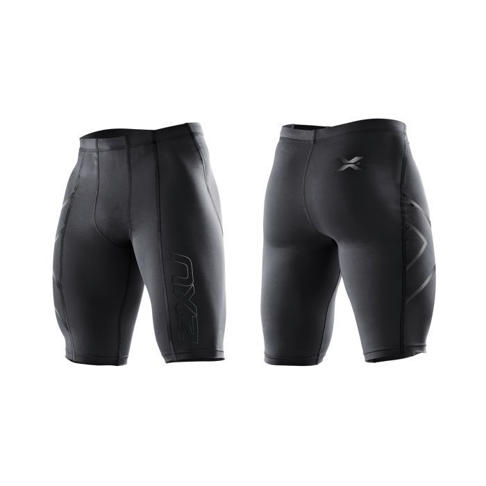 2XU Men's Compression Shorts black/black logo L