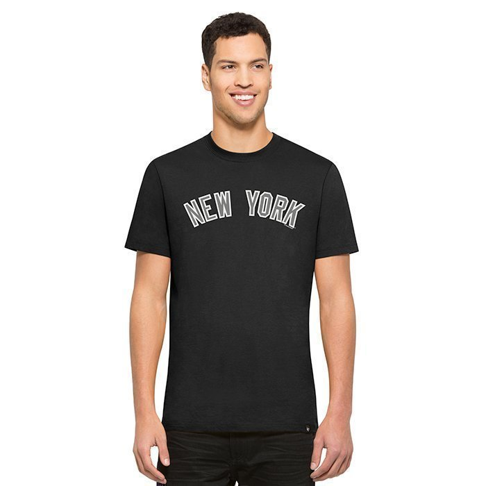 47 Crosstown Frozen Rope Tee New York Yankees MLB Black Small
