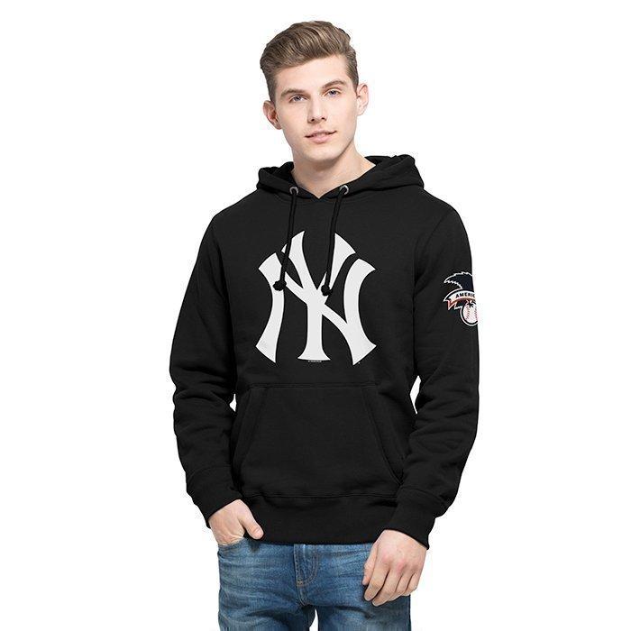 47 MLB Hole Shot Hood New York Yankees Black Large
