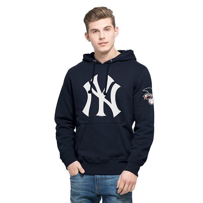 47 MLB Hole Shot Hood New York Yankees Fall Navy Medium