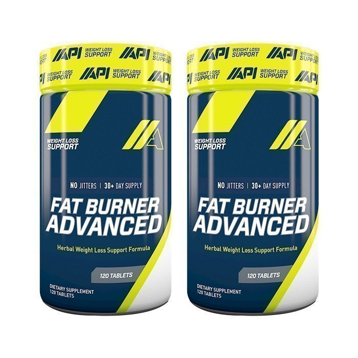 API 2 x Fat Burner Advanced 120 tabs