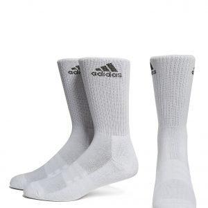 Adidas 3 Pack Crew Sukat Valkoinen