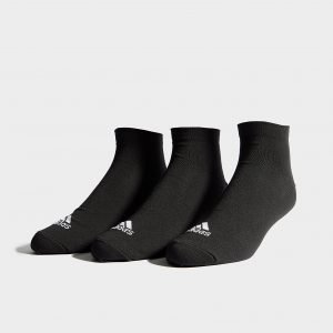 Adidas 3 Pack Invisible Sukat Musta