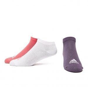 Adidas 3 Pack Real Socks Vaaleanpunainen