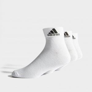 Adidas 3 Pack Sport Quarter Socks Valkoinen