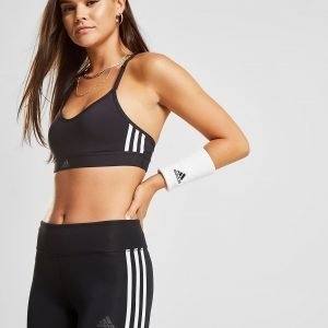 Adidas 3-Stripes Bra Musta