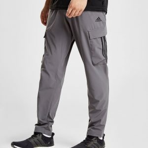 Adidas 3-Stripes Cargo Pants Harmaa
