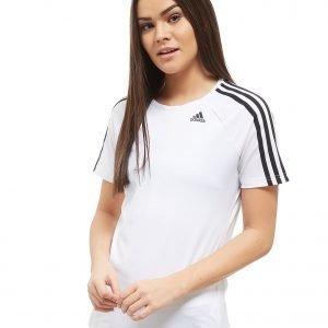 Adidas 3-Stripes Training T-Shirt Valkoinen