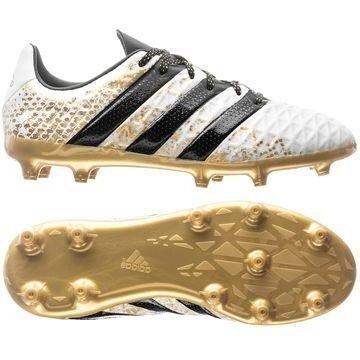 Adidas ACE 16.1 FG/AG Stellar Pack Valkoinen/Musta/Kulta Lapset