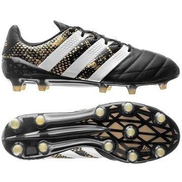 Adidas ACE 16.1 Nahka FG/AG Stellar Pack Musta/Valkoinen/Kulta
