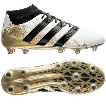Adidas ACE 16.1 Primeknit FG/AG Stellar Pack Valkoinen/Musta/Kulta