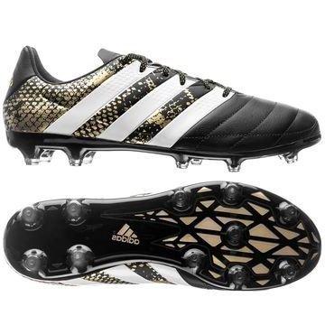 Adidas ACE 16.2 Nahka FG/AG Stellar Pack Musta/Valkoinen/Kulta