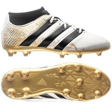 Adidas ACE 16.3 Primemesh FG/AG Stellar Pack Valkoinen/Musta/Kulta Lapset