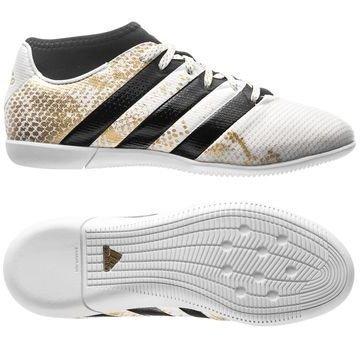 Adidas ACE 16.3 Primemesh IN Stellar Pack Valkoinen/Musta/Kulta Lapset
