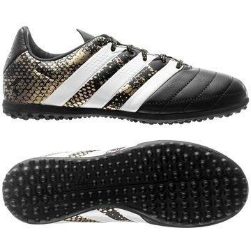 Adidas ACE 16.3 TF Nahka Stellar Pack Musta/Valkoinen/Kulta Lapset