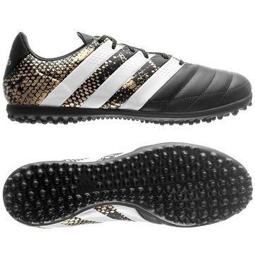 Adidas ACE 16.3 TF Nahka Stellar Pack Musta/Valkoinen/Kulta