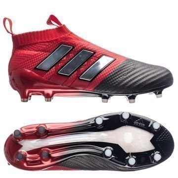 Adidas ACE 17+ PureControl Boost FG/AG Red Limit Punainen/Valkoinen/Musta