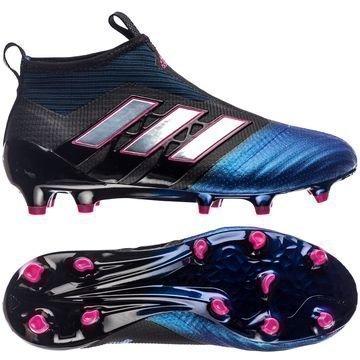 Adidas ACE 17+ PureControl FG/AG Blue Blast Musta/Valkoinen/Sininen Lapset