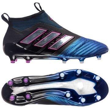 Adidas ACE 17+ PureControl FG/AG Blue Blast Musta/Valkoinen/Sininen