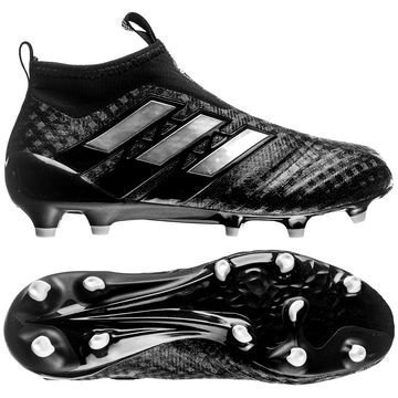 Adidas ACE 17+ PureControl FG/AG Chequered Black Musta/Valkoinen Lapset