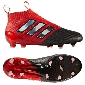 Adidas ACE 17+ PureControl FG/AG Red Limit Punainen/Valkoinen/Musta Lapset