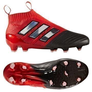 Adidas ACE 17+ PureControl FG/AG Red Limit Punainen/Valkoinen/Musta Lapset