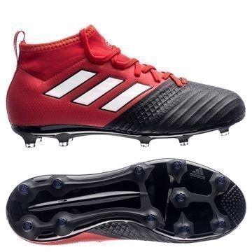 Adidas ACE 17.1 FG/AG Red Limit Punainen/Valkoinen/Musta Lapset