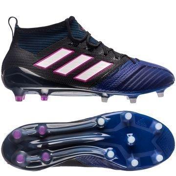 Adidas ACE 17.1 Primeknit FG/AG Blue Blast Musta/Valkoinen/Sininen
