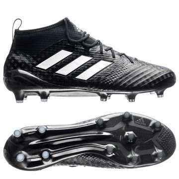 Adidas ACE 17.1 Primeknit FG/AG Chequered Black Musta/Valkoinen/Hopea