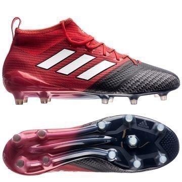 Adidas ACE 17.1 Primeknit FG/AG Red Limit Punainen/Valkoinen/Musta