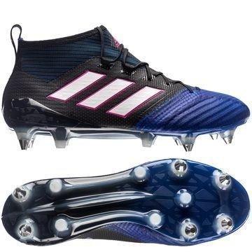 Adidas ACE 17.1 Primeknit SG Blue Blast Musta/Valkoinen/Sininen
