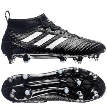 Adidas ACE 17.1 Primeknit SG Chequered Black Musta/Valkoinen/Hopea