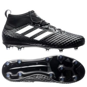 Adidas ACE 17.2 Primemesh FG/AG Chequered Black Musta/Valkoinen