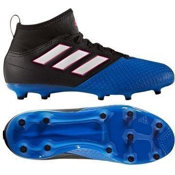 Adidas ACE 17.3 Primemesh FG/AG Blue Blast Musta/Valkoinen/Sininen Lapset