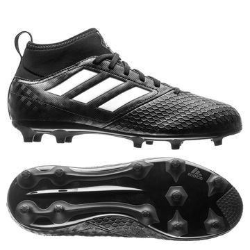Adidas ACE 17.3 Primemesh FG/AG Chequered Black Musta/Valkoinen Lapset
