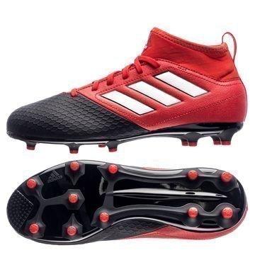 Adidas ACE 17.3 Primemesh FG/AG Red Limit Punainen/Valkoinen/Musta Lapset