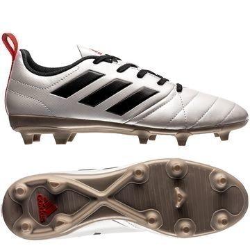 Adidas ACE 17.4 FG/AG Metallic Shimmer Pack Valkoinen/Musta/Punainen Naiset