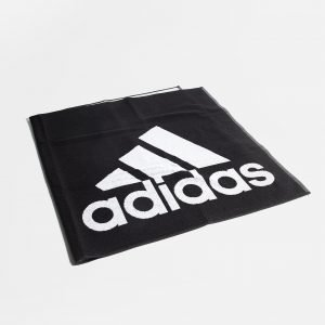 Adidas Badge Of Sport Large Towel Musta
