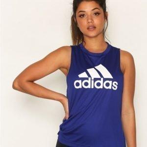 Adidas Boxy Logo Tank Treenitoppi Loose Fit Mystery