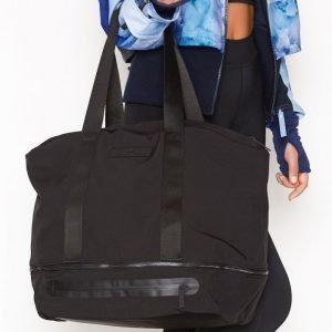 Adidas By Stella Mccartney Iconic Bag L Treenilaukku Musta