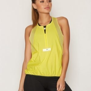 Adidas By Stella Mccartney Run Adz Tank Treenitoppi Loose Fit Keltainen