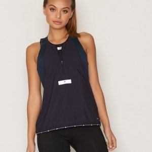 Adidas By Stella Mccartney Run Adz Tank Treenitoppi Loose Fit Sininen