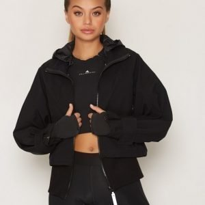 Adidas By Stella Mccartney Run Trail Jacket Treenitakki Musta