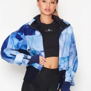 Adidas By Stella Mccartney Run Trail Jacket Treenitakki Sininen