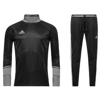 Adidas Condivo 16 Peliasu Musta/Harmaa Lapset