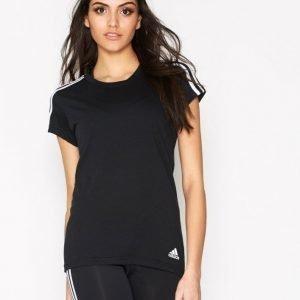 Adidas Ess 3s Slim Tee Lyhythihainen Treenipaita Musta / Valkoinen