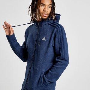 Adidas Essential Full Zip Hoodie Laivastonsininen